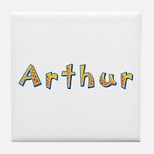 Arthur Giraffe Tile Coaster