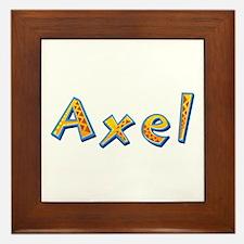 Axel Giraffe Framed Tile
