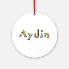 Aydin Giraffe Round Ornament
