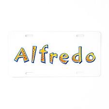 Alfredo Giraffe Aluminum License Plate