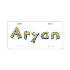 Aryan Giraffe Aluminum License Plate