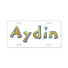 Aydin Giraffe Aluminum License Plate