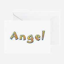 Angel Giraffe Greeting Card