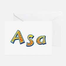 Asa Giraffe Greeting Card