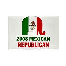 Mexican Republican Rectangle Magnet