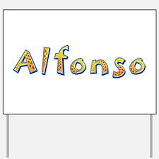Alfonso Giraffe Yard Sign
