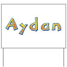 Aydan Giraffe Yard Sign