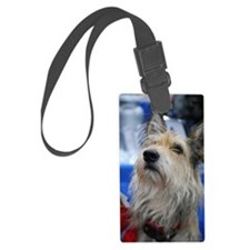 Berger Picard Dog Luggage Tag