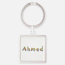 Ahmed Giraffe Square Keychain