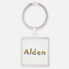 Alden Giraffe Square Keychain