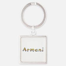 Armani Giraffe Square Keychain