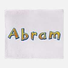 Abram Giraffe Throw Blanket