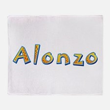 Alonzo Giraffe Throw Blanket