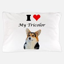 I love my Tricolor Corgi Pillow Case