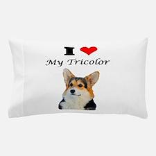 I love my Tricolor Corgi Pillow Case