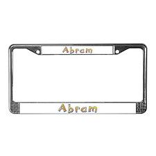 Abram Giraffe License Plate Frame