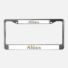 Alden Giraffe License Plate Frame