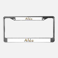 Aldo Giraffe License Plate Frame