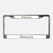 Amare Giraffe License Plate Frame