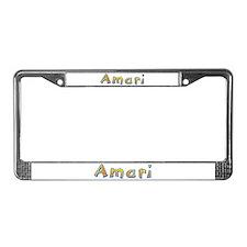 Amari Giraffe License Plate Frame