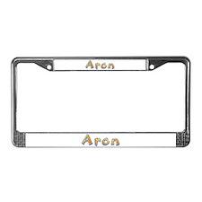 Aron Giraffe License Plate Frame