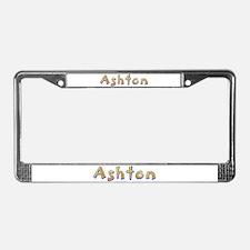 Ashton Giraffe License Plate Frame