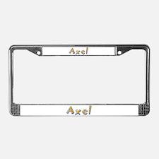 Axel Giraffe License Plate Frame