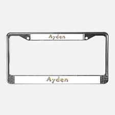 Ayden Giraffe License Plate Frame