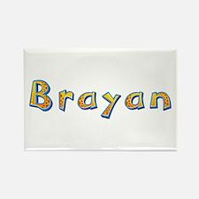 Brayan Giraffe Rectangle Magnet