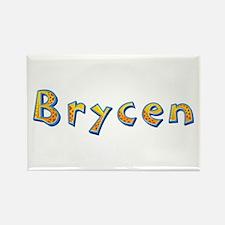 Brycen Giraffe Rectangle Magnet
