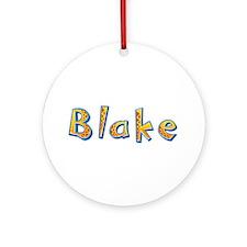 Blake Giraffe Round Ornament