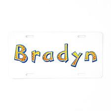 Bradyn Giraffe Aluminum License Plate