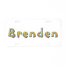 Brenden Giraffe Aluminum License Plate