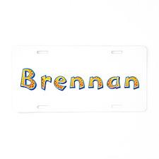 Brennan Giraffe Aluminum License Plate