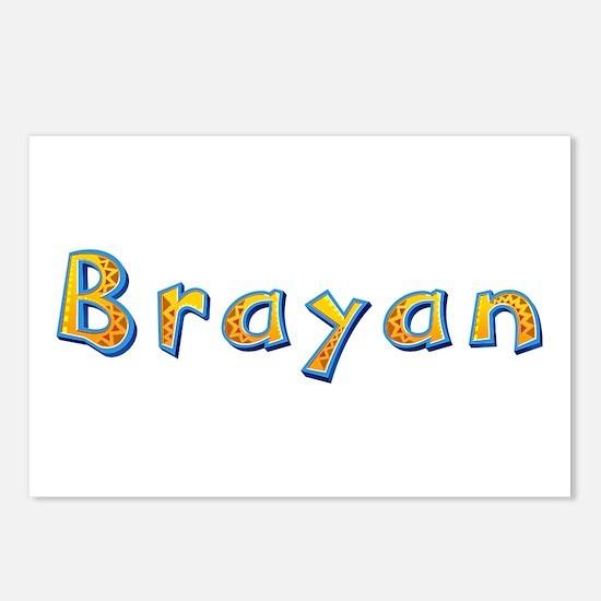 Brayan Giraffe Postcards 8 Pack