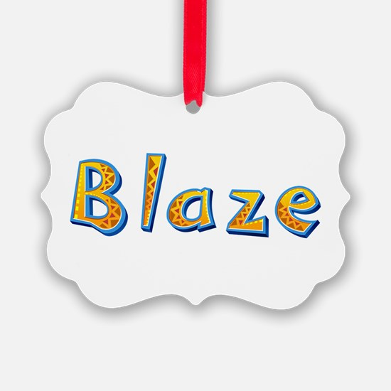 Blaze Giraffe Ornament