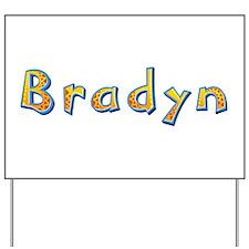 Bradyn Giraffe Yard Sign