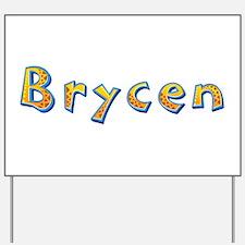 Brycen Giraffe Yard Sign