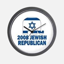 Jewish Republican Wall Clock