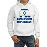 Jewish republican Hooded Sweatshirt