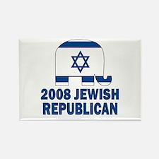 Jewish Republican Rectangle Magnet