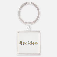 Braiden Giraffe Square Keychain