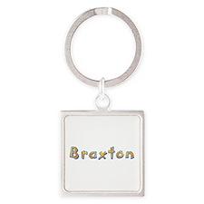 Braxton Giraffe Square Keychain