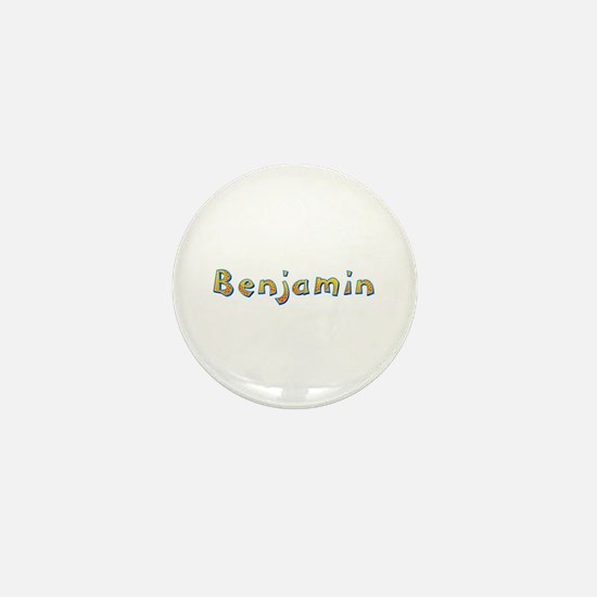 Benjamin Giraffe Mini Button