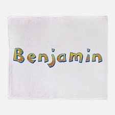 Benjamin Giraffe Throw Blanket