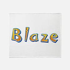 Blaze Giraffe Throw Blanket