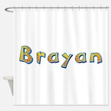 Brayan Giraffe Shower Curtain