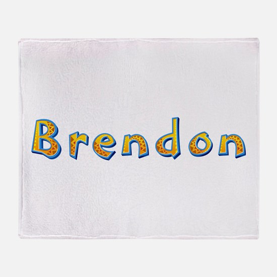 Brendon Giraffe Throw Blanket