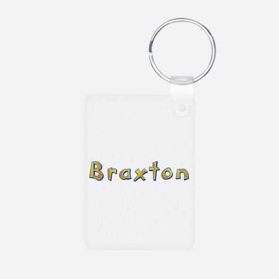 Braxton Giraffe Aluminum Keychain