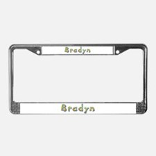 Bradyn Giraffe License Plate Frame